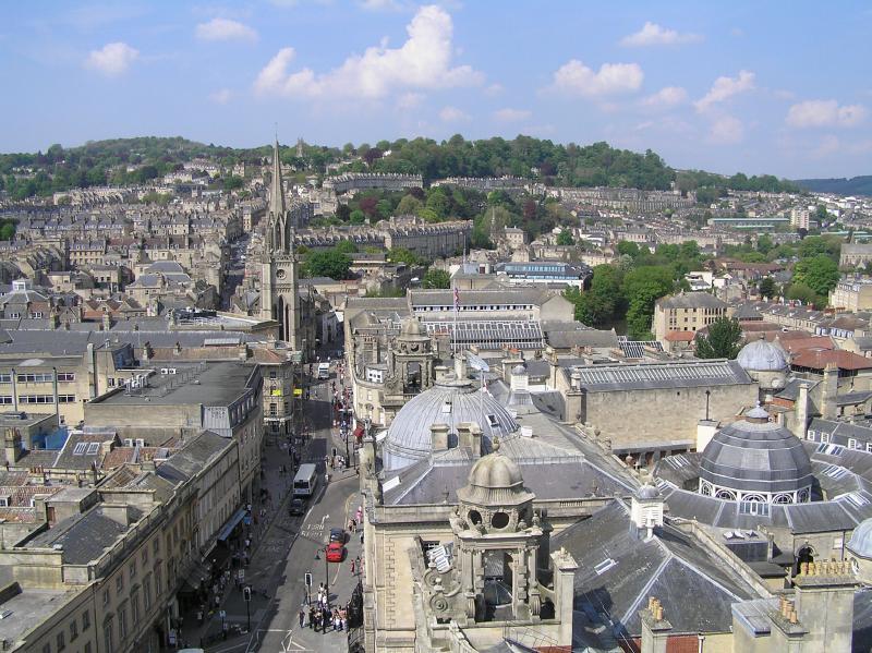 byen bath i england